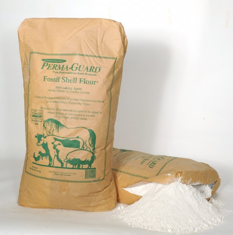 Oyster Shell Flour From The Worm Farm